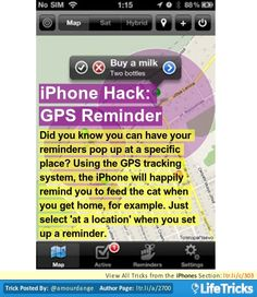 gps tracking in iphone