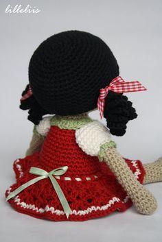 PATTERN Gipsy girl Anita amigurumi pattern crochet por lilleliis