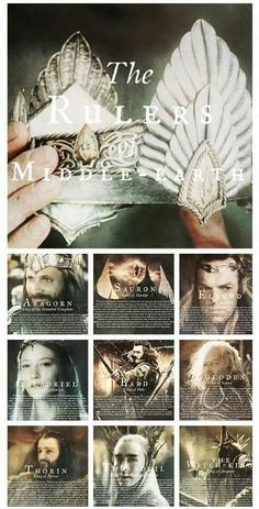 Rulers of Middle-earth