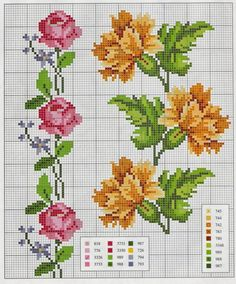 "Ponto cruz: Flores Ponto Cruz                                                                                                                                                                                 Mais [   ""UlBjwGNqbpI schema+a+punto+croce+bordi+e+cornici-+garofani+e+rose.jpg"",   ""pink rose Gallery.ru / Photo # 3 - edging curbs 2 - irisha-ira"",   ""rose - flower - point de croix - cross stitch - Blog :"",   ""İsim: Görüntüleme: 929 Büyüklük: KB (Kilobyte)"",   ""Gallery.ru / Фото…"