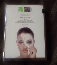 Unopened box of 5 cucumber face masks and more masks!!  :) read description!