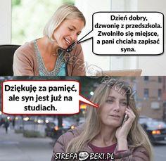 Jeśli tak to obserwuj . Life Humor, Man Humor, Wtf Funny, Funny Cute, Polish Memes, I Dont Need You, Funny Mems, Best Memes, Funny Animals