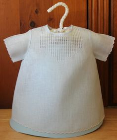 Baby Blue Day Gown for Baby Boy | 0-3 months | Pale Blue | Handmade Baby Shower gift | Easter gift on Etsy, $74.95