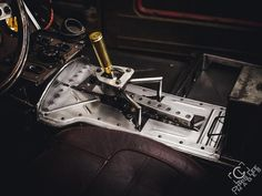 1949 Ford truck built by hand in a one car garage by Chris Lee with a fabricated chassis, full suspension, roof chop, floor and transmission tunnel that is powered by a 1JZ engine form a JZX110 and a CD09 Nissan 6 speed transmission.