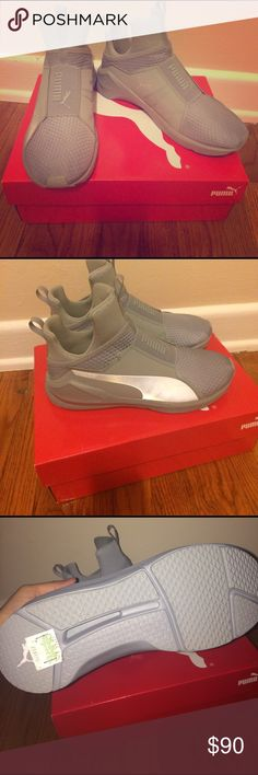 72bee123237 Puma Fierce Women shoes These are the Puma Fierce they are brand new wanted  to return them but I lost the receipt they are silver size really  comfortable.
