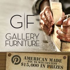 Gallery Furniture - American Made Pinterest Contest