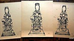 "15 Likes, 1 Comments - Julius Sobrino (@juliussobrino) on Instagram: ""3 estudios para la Virgen de Monserrat. #dibujo #dibujos #drawing #sketch #arte #art #virgen…"""