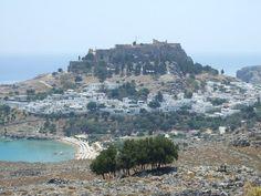 Lindos on the island of Rhodes, Greece - Bilingual Blah Blah: Urlaubs-Erinnerungen: Rhodos