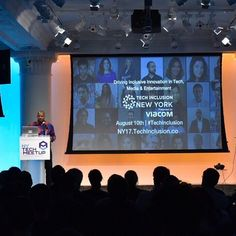 Our own #TechInclusion co-founder @waynesutton speaking at the NY Tech Meetup #nytechalliance @nytechalliance tonight. . Sharing details about our mission and driving inclusivity through empathy and remaining focused on solutions.  techinclusion,nytechalliance