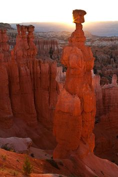Thor's Hammer Sunrise, Bryce Canyon National Park, Utah