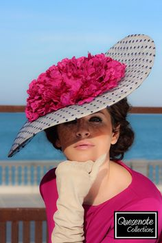 Navy, red, Pink, Blue and so many colorful fascinator range is available. Fancy Hats, Cool Hats, Sombreros Fascinator, Fascinators, Headpieces, Crazy Hats, Millinery Hats, Church Hats, Kentucky Derby Hats