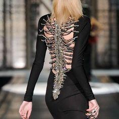 Skeleton dress.
