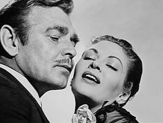 Clark Gable and Yvonne De Carlo