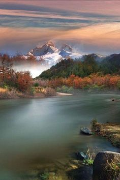 Tronador Montain and Manso river, Argentina by Rodrigo Gerhardt
