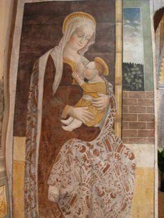Giovan Pietro da Cemmo, Madonna del Latte, (1491-93) Esine, chiesa di Santa Maria Assunta.