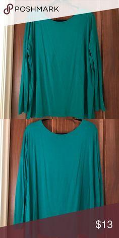 Long sleeve Piko shirt Piko long sleeve shirt. Greenish/turquoise. Worn once. PIKOLINOS Tops Tees - Long Sleeve