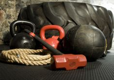 Sandbags TRX or Olympic rings Kettlebells Bands Chains Sled Tractor tire Med balls Thick ropes.my gym Race Training, Training Plan, Training Equipment, No Equipment Workout, Cross Training, Tire Workout, Workout Gear, Workouts, Exercises