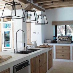 Cozinha de betão