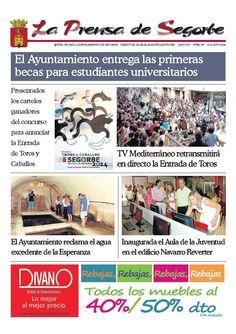La Prensa de Segorbe nº 177 Agosto 2014