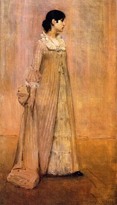 William Merritt Chase - Lady in Pink, c. 1883