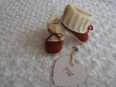 baby booties crochet Ugg stylebaby slippersbaby by Bootilicious