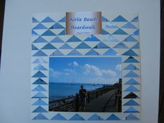 Airlie Beach - wave effect with photo cuts