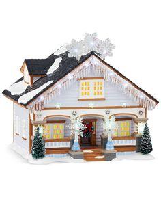Department 56 Snow Village The Snowflake House