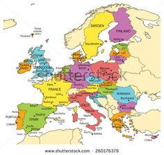 Map of europe countries world map europe belgium best of european more information gumiabroncs Image collections