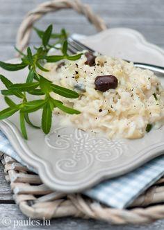 Spitzkohl-Risotto mit Gorgonzola
