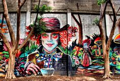 Photo street art (The Mad Hatter) by Sheffi M. on 500px