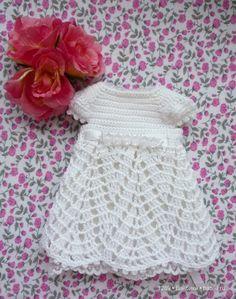 Вяжем платье для паолочки (Кукла Paola Reina 32 см) / Мастер-классы, творческая мастерская: уроки, схемы, выкройки кукол, своими руками / Бэйбики. Куклы фото. Одежда для кукол