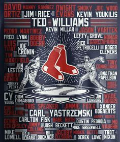 Wow, been a RED SOX fan all my life. These names brings back the high lights Boston Baseball, Red Sox Baseball, Baseball Socks, Boston Sports, Boston Bruins, Boston Red Sox, Baseball Stuff, Baseball Wallpaper, Mlb