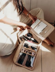 The best travel gear and accessories for the modern traveler. These are perfect for weekend sleepovers, beach days, and summers in the south of France. Designed and created by Shay Mitchell. Shay Mitchell, Suitcase Packing, Travel Luggage, Travel Bags, Pack Suitcase, Travel Backpack, New Travel, Ultimate Travel, Travel Style