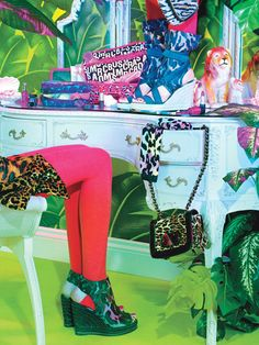 Wild Things: Colorful Animal Print Clothing: Feature: teenvogue.com
