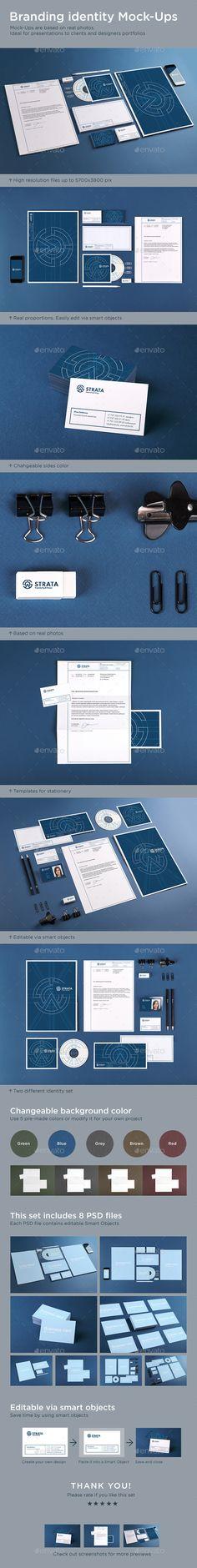 Branding Identity Mock-Ups | Download: http://graphicriver.net/item/branding-identity-mockups/9218158?ref=ksioks