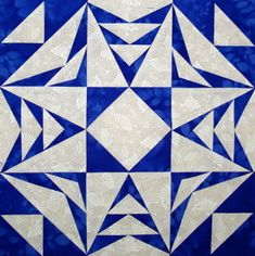 Flying geese with star #quilt block