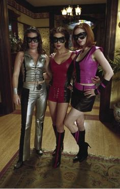 Charmed. Alyssa Milano. Holly Marie Combs. Rose McGowan.