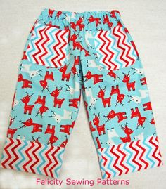 Play Pants FREE PATTERN at Felicity Sewing Patterns website  http://www.felicitysewingpatterns.com/product/new-free-pattern-play-pants-bonus-christmas-tree-applique-boys-girls-sizes-1-10-years?tid=26