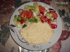 Hummus - cícerová nátierka - Recept Tahini, Hummus, Grains, Rice, Meat, Chicken, Food, Essen, Meals