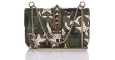 Buy Valentino Women's Metallic Lock Camustars Medium Shoulder Bag, starting at $2545. Similar products also available. SALE now on!