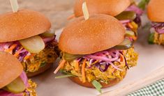 Smoky Pulled Pork Sandwiches with Mustard BBQ sauce