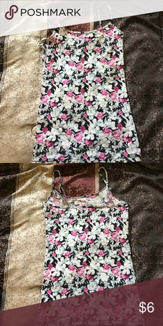 Tank Top Flower print spaghetti strapped tank top by Aeropostale ❤️   Condition: Brand new condition ☺️ Aeropostale Tops Tank Tops