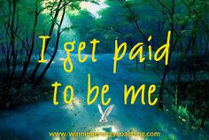 The best thing about being a business owner is getting paid to do what you love! Clients use you because of your knowledge and because they trust you! So congratulate yourself today on getting paid to be you!
