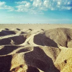 Mar de arena. #sea #sand #beach #cantabria #summer
