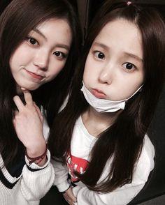 Eunbin y Yujin de CLC