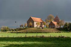 Wierde (mound), Ezinge, Ommelanden, Groningen (NL)