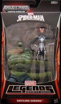 Marvel Legends Ultimate Green Goblin Series Spider-Girl
