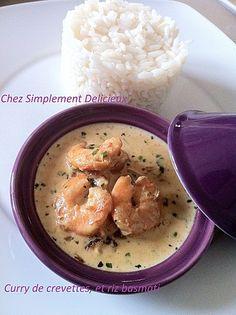 crevette curry