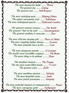Poem used at BOSC luncheon