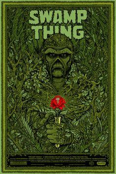 Swamp Thing by Florian Bertmer